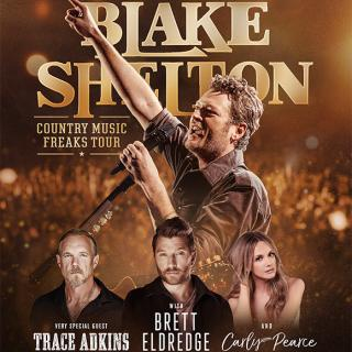Blake Shelton's New Album, Texoma Shore, Included In Every Ticket Sold Online