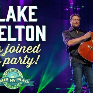 Join Blake in Mexico at Crash My Playa 2017