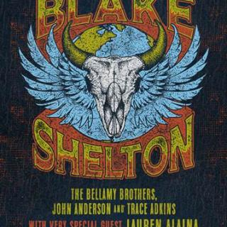 "BLAKE SHELTON CELEBRATES HIS ""FRIENDS AND HEROES"" WITH SOLD-OUT TOUR KICK-OFF WEEKEND"