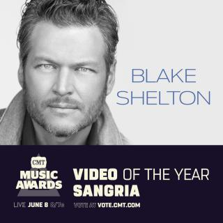 'Sangria' Lands Blake Two CMT Music Award Nominations